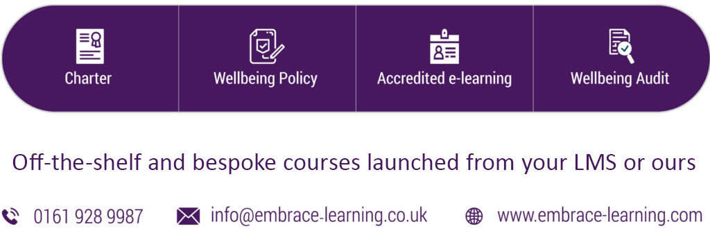 Off-the-shelf and bespoke courses launched from your LMS or ours